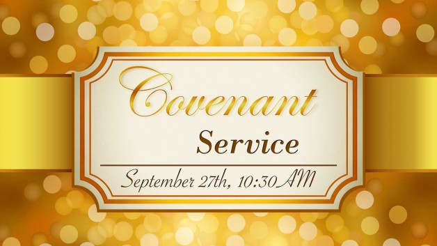 Covenant Service